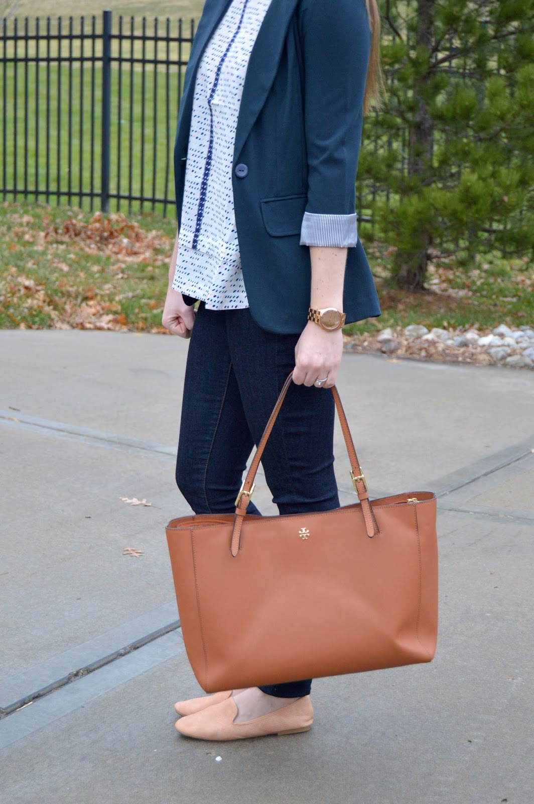 work outfit ideas for a jeans casual dress code