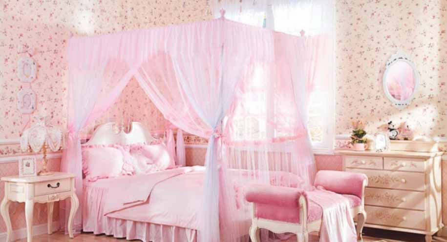 Konsep Desain Interior Kamar Tidur Anak Perempuan Anda