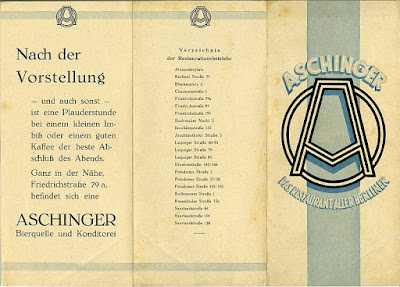 Restaurant Aschinger Berlin