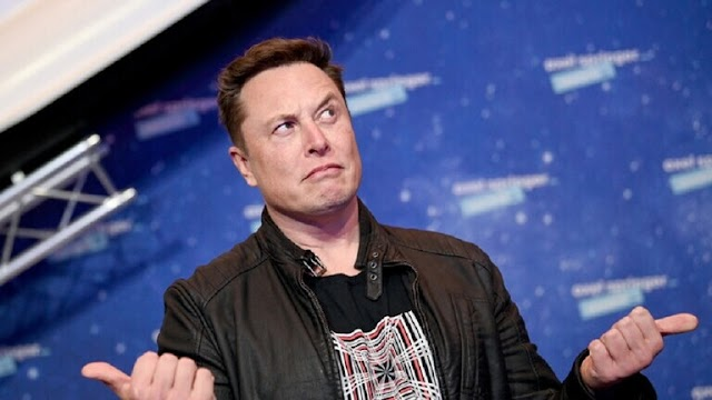 Musk loses about $ 14 billion in one day