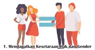 Mendapatkan Kesetaraan Hak dan Gender merupakan salah satu makna mendalam perjuangan RA. Kartini bagi Kartini Modern