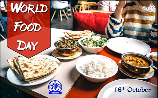 World Food Day | October, 16