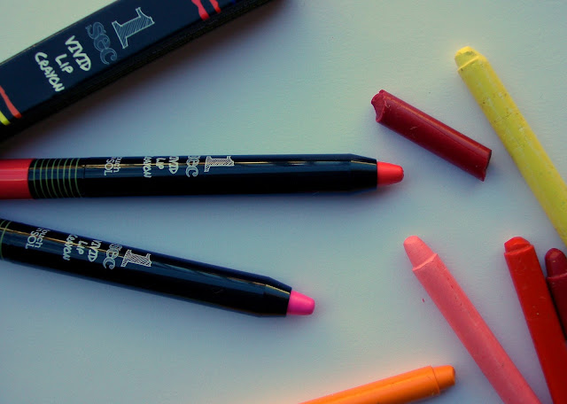 Touch in Sol One Second Vivid Lip Crayons - Korean beauty lip colours at Glamourflare