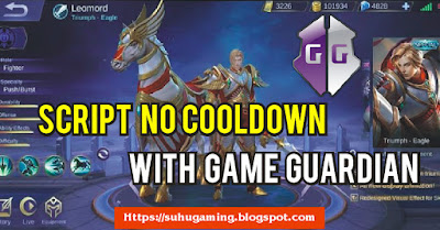 Script Tanpa Cooldown Skills Skin Leomord Triumph Eagle (Skin Spesial) Terbaru Mobile Legends