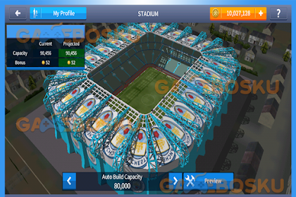 How to modify Dream League Soccer Stadium
