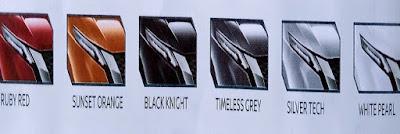 Gambar Jenis Warna Mobil Nissan Livina