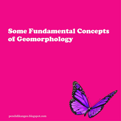 Some Fundamental Concepts of Geomorphology