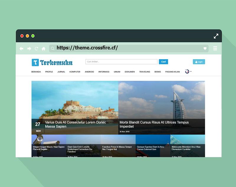 Download Template Terkemuka Premium Blogger Responsive - Responsive Blogger Template