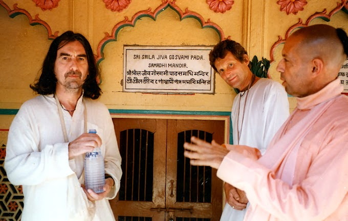 """REMEMBERING THE 'QUIET BEATLE' of """"George Harrison"""" that who embraced the Hare Krishna tradition"""
