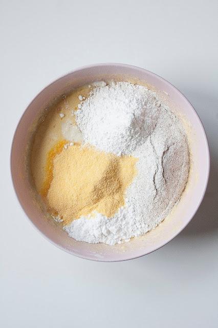 Torta di pere e grano saraceno step 3