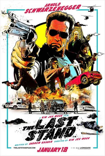 The Last Stand 2013 300MB Hindi Dual Audio 480p BluRay Esubs