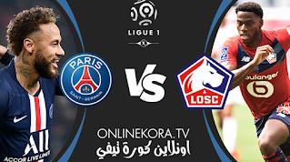 مشاهدة مباراة باريس سان جيرمان وليل بث مباشر اليوم 19-12-2020 في الدوري الفرنسي