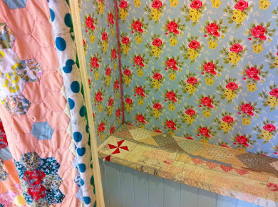 Changing rooms in the cath kidston shop in york