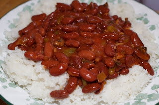 Spicy Palm Oil Rice and Beans Recipe. Rice and beans is an African food staple; it makes the most of basic pantry ingredients, rice and beans