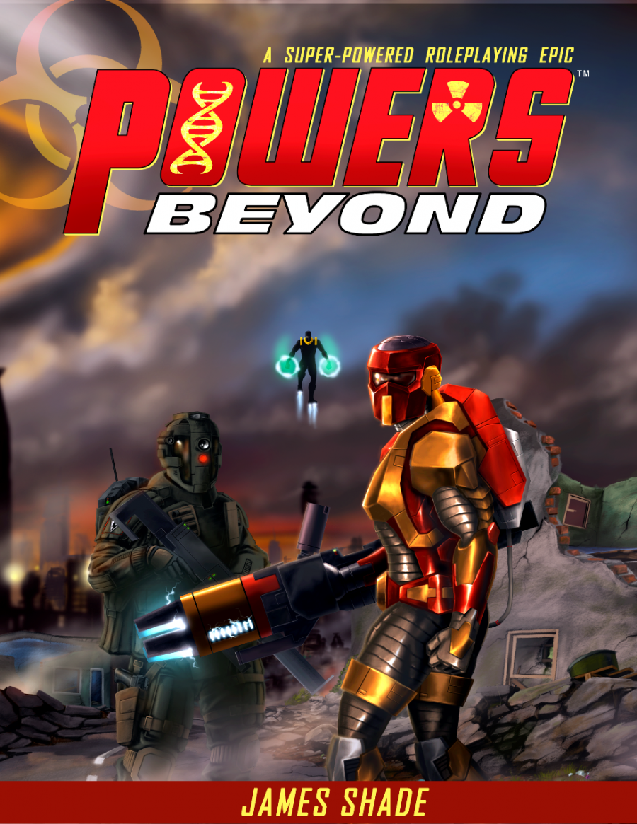 CROSS PLANES: Review: Powers Beyond - A Superpowered