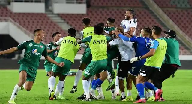 الرجاء البيضاوي يتوج بلقب كأس محمد السادس للأندية العربية الأبطال