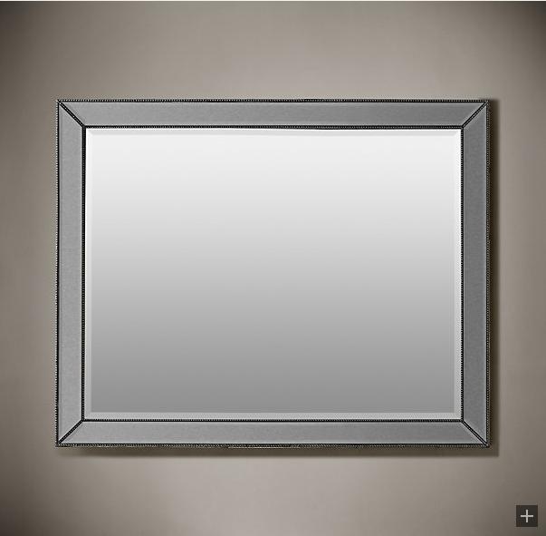 Venetian Beaded Mirrors Silver Restoration Hardware Photos