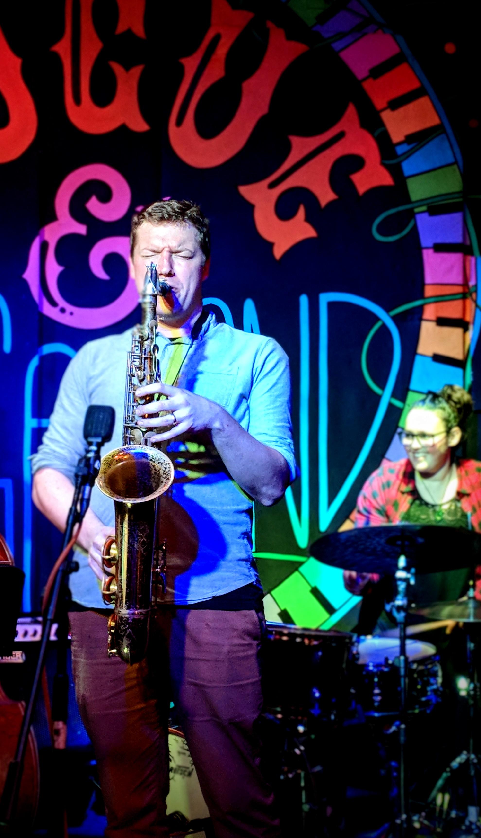 Jazz player at Rogue & Vagabond
