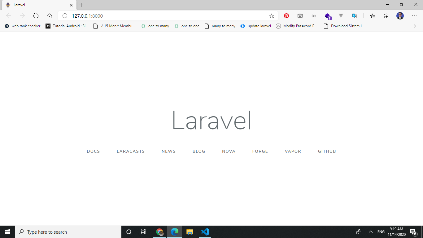 membuat restful api laravel sanctum