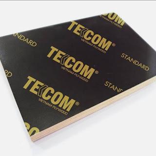 Cốp pha ván phủ phim Tekcom có thể ứng dụng tại các công trình công nghiệp, thương mại và dân dụng có kết cấu cột, tường