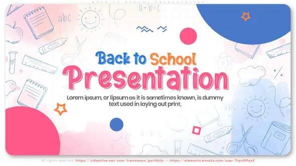 Videohive - Back To School Presentation - 28641993
