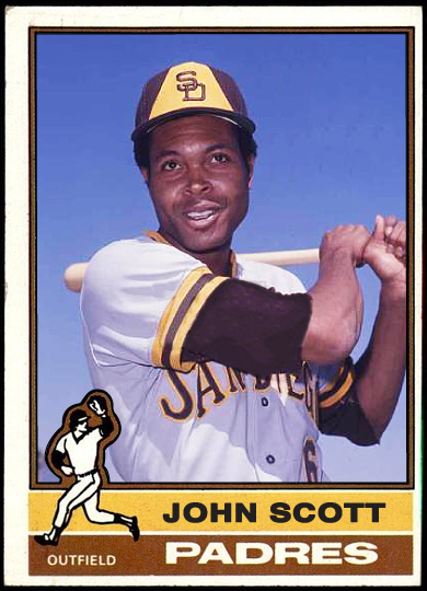 Hereu0027s A U201cnot So Missingu201d 1976 Card For Former San Diego Padres Outfielder  John Scott, Who Appeared In 25 Games During The 1975 Season:  Missing In Action Poster
