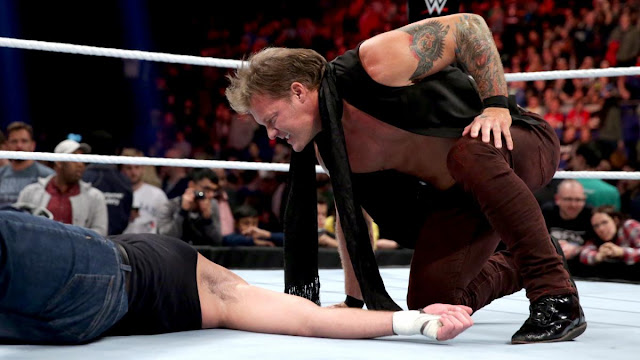 Chris Jericho a mené la danse avec Dean Ambrose cette semane