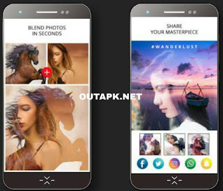 Photo Blend – Double Exposure Effect Apk v1.2 [Premium] [Latest]
