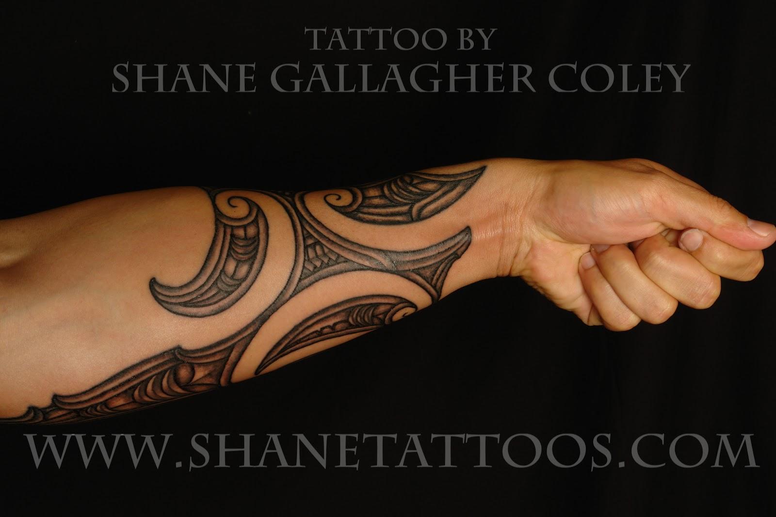 Maori Tattoo Gallery: Maori Forearm Tattoo/TaMoko