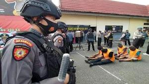 Polisi Gagalkan Penyelundupan Sabu Seberat 300 Kg