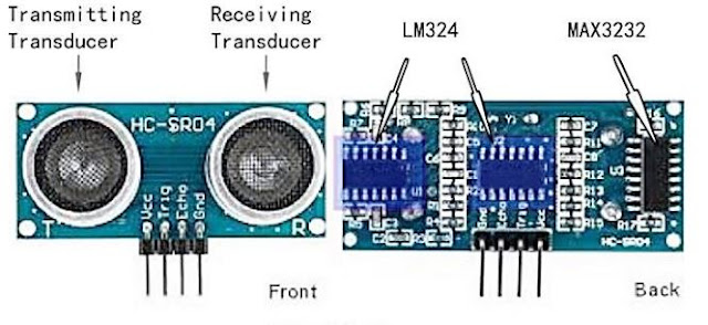 Kontruksi Sensor Ultrasonik
