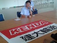 PT Kenda Rubber Kibarkan Bendera Merah Putih Tulisan Cina di Grebek Warga