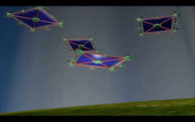 drones para producir energía electrica