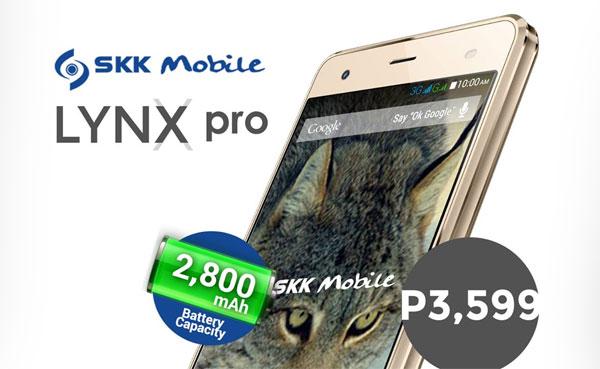 SKK Mobile Lynx Pro gold