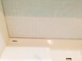 タイル 洗面台 DIY