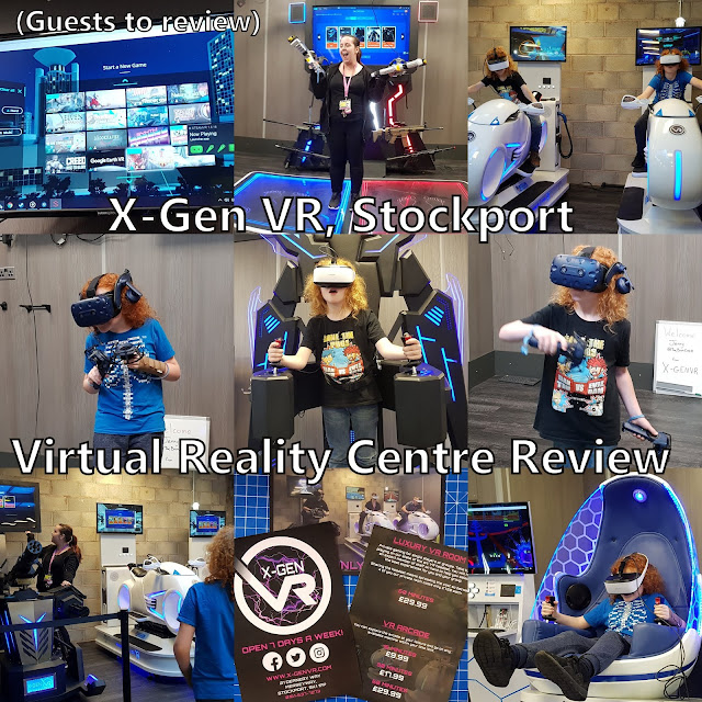 collage of photos from X-Gen VR Virtual Reality Centre Review