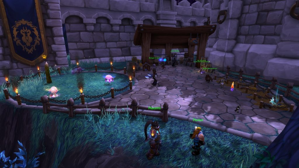 In Draenor there's the garrison - and much more.