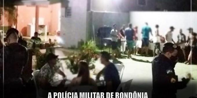 """Polícia Militar impede mais uma """"CoronaFest"""" em Ji-Paraná"""