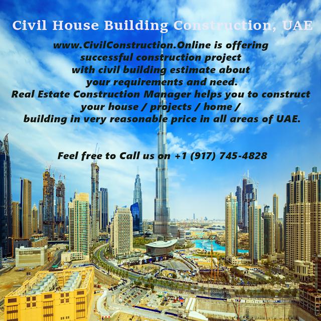 Civil House Building Construction, Musaffah, UAE