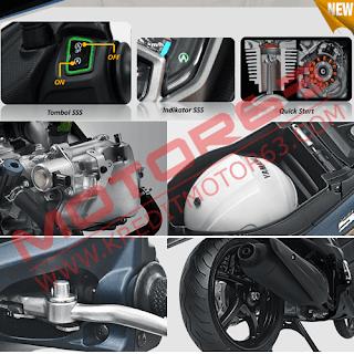 Fitur Spesifikasi Yamaha Soul GT 125 AKS SSS