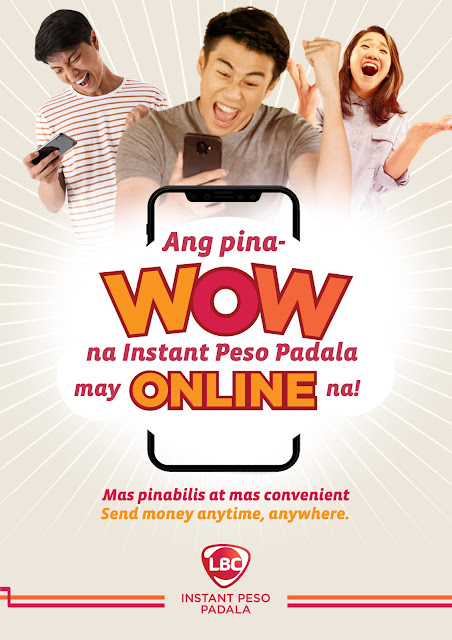 Stay home, send money online with LBC's Instant Peso Padala