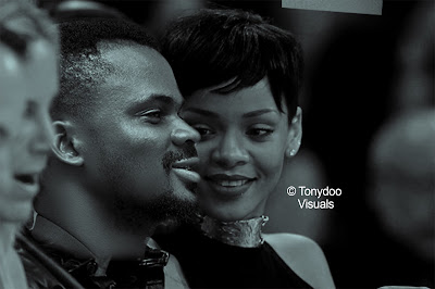 Nigerian Photographer Photoshops Self With Rihanna