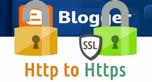 Blogspot Telah Menggunakan Protokol HTTPS