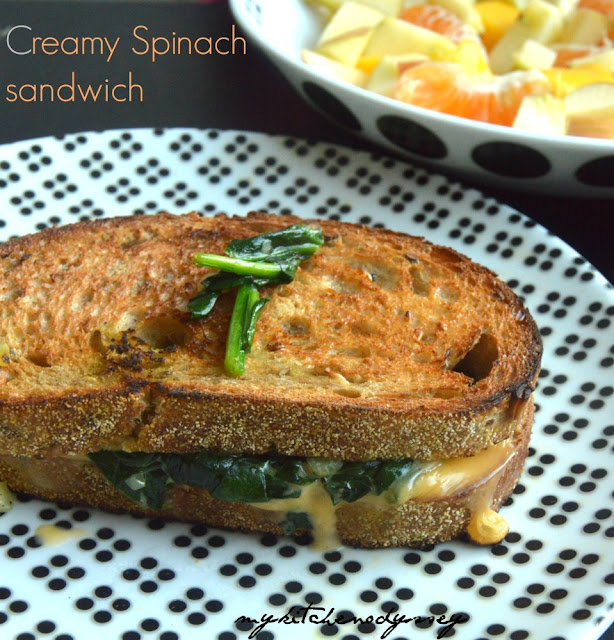 cheese spinach sandwich2