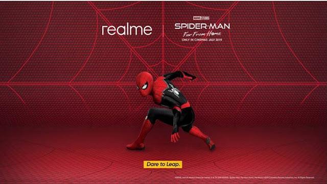 Realme Berkolaborasi dengan Spider-Man: Far From Home, Hadirkan Pengalaman Smartphone Dare-to-Leap Untuk Anak Muda di Indonesia .