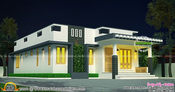 Cute single floor 1007 sq-ft house