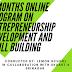 Three Months Online Program on Entrepreneurship Development and Skill Building