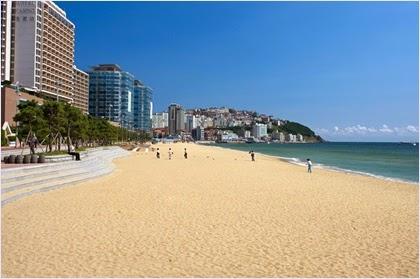 หาดแฮอึนแด (Haeundae Beach) @ www.trekeart.com