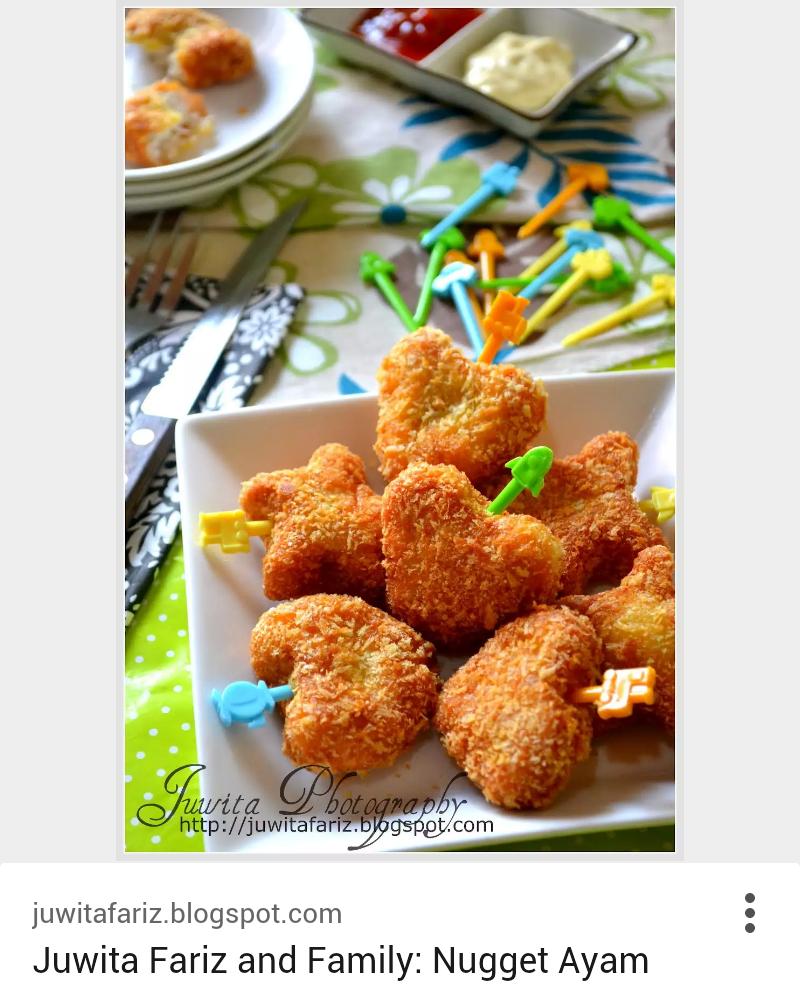 Nugget Ayam Tahu: Cara Buat Nugget Ayam Sendiri