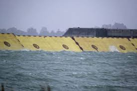 Venice Deploys Flood Barrier